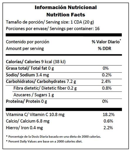 Mermelada sugarfree de fresa ujarras - Descripcion del producto ...